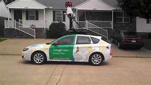 Google Street View Car In Action Streetview  YouTube