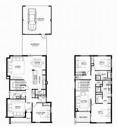 4 bedroom double storey house plans two storey house plan with dimensions new double storey 4