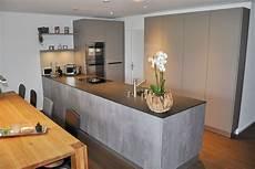 küche beton optik k 252 che mit betonoptik danuser herisau