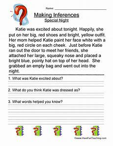 inference worksheets have fun teaching