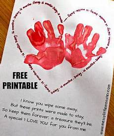 s day printable handprint poem 20557 handprint poem an adorable handprint keepsake preschool crafts toddler
