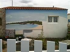 mur végétal extérieur pas cher cuisine fresques murales d 195 169 cor peint sur fa 195 167 ade