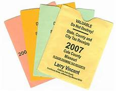 duplicate property tax receipts cole county mo