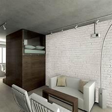 1 Wall Wallpaper Mural Loft White Brick Effect 3 15m