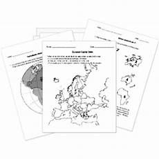free printable geography tests and worksheets