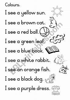 color worksheets esl 12982 i see colours esl worksheet by joeyb1