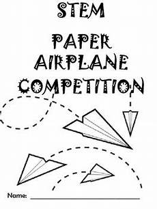 paper airplane science worksheets 15715 back to school stem activity paper airplane challenge airplane activities classroom