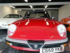 Alfa Romeo Spider 105 Graduate Needs Recomissioning