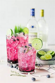 simply sweet blueberry thyme smash a simple pantry