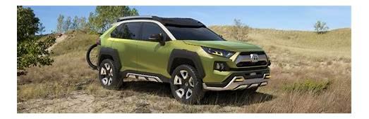 Future Toyota Adventure Concept FT AC At 2017 LA Auto Show