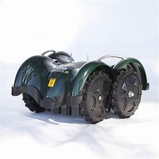 lawnbott spyderevo robotic lawn mower the green