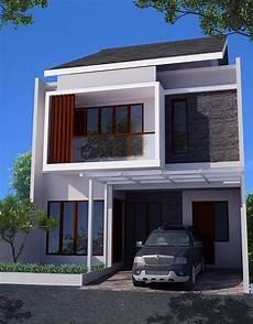 Desain Rumah Minimalis 2 Lantai Tak Depan Rumah