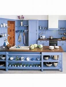 meuble cuisine bleu 25 id 233 es de cuisine bleue paperblog