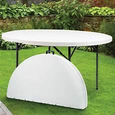 table ronde pliante en r 233 sine 216 122 cm maison fut 233 e
