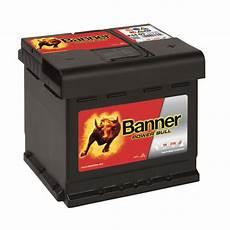 banner power bull autobatterie 44ah 12v p4409 kfz pkw