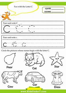 letter c worksheets for preschool search letter sound activities pinterest