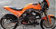 B Orange Garage by Mercenary Garage Buell S1