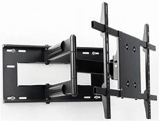 Rotating Wall Mount Black Television Bracket