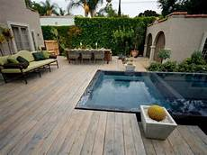 Kleingarten Mit Pool Auf Der Terrasse Garden Garten