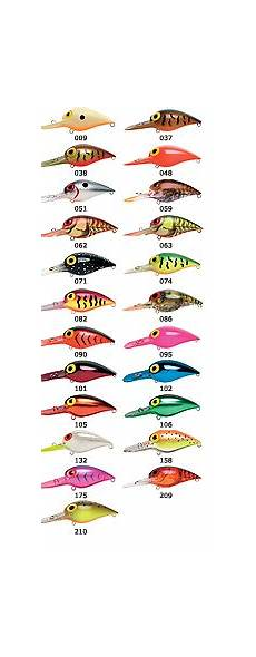 Pre Rapala Wiggle Wart Color Chart Wiggle Wart Colors Texas Fishing Forum