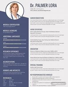 free 10 best medical resume exles templates