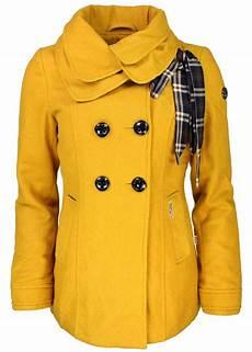 s oliver jacken damen khujo damen winter mantel mieke gelb yellow neu ebay