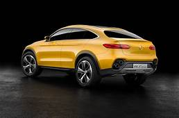 All Hail The New 2016 GLK Mercedes Concept GLC Coupe