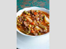 best hamburger vegetable soup recipe