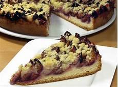 Rezept Pflaumenkuchen Mit Streusel Und Hefeteig Vom Blech