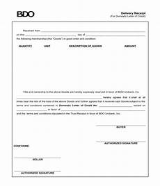 free 7 delivery receipt forms in pdf ms word