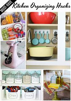 must kitchen organizing hacks mine for the