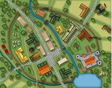 how to make a fictional modern town map quora