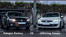 halogen vs ledriving xenarc golf 6 edition info