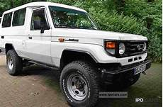 2000 Toyota Hzj 78 Car Photo And Specs