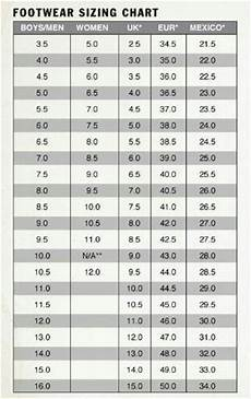 Columbus Shoes Size Chart How Do Shoes Sizes Vary In Mexico Quora