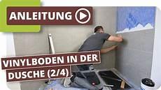 Vinylboden In Der Dusche Vinylboden Verlegen Teil 2 4