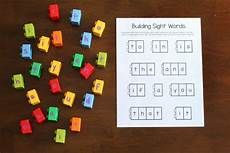 building sight words worksheets 21020 building sight words activity
