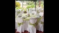 deco mariage blanc decoration de salle de mariage blanc et vert