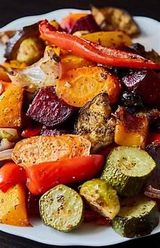 scrumptious roasted vegetables i food