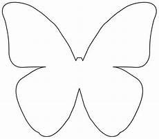 Schmetterling Vorlagen - butterfly outline template cliparts co