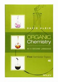 2016 organic chemistry as a second language pdf first