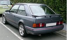 ford xr3i rs1600i 1981 1993