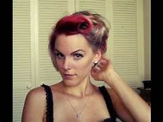 rockabilly hair victory rolls for really hair