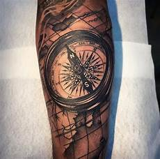 compass on arm by andy blanco