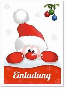 einladungskarte weihnachtsfeier lustig nikolaus witzig f 252 r