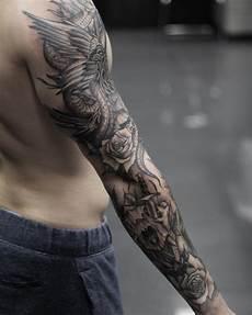 Arm Tattoos Männer - arm tattoos f 252 r m 228 nner 18 ideen f 252 r oberarm und unterarm