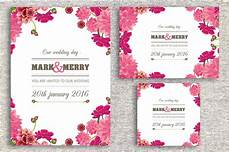 Sle Wedding Invitation Cards Templates
