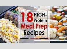 18 High Protein Meal Prep Recipes   Meal Prep on Fleek?