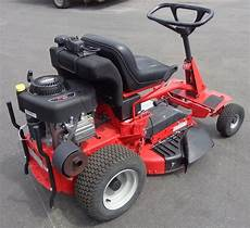 used 28 snapper rear engine rider with bagger lawn mower 12 5 hp briggs ebay