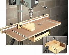 Tafel Selber Bauen - drill press table woodworking plan woodworking drill